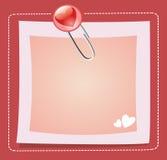 Valentinsgruß-Tag. lizenzfreie abbildung