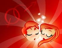 Valentinsgruß-Tag Lizenzfreies Stockfoto