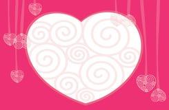 Valentinsgruß-Tag. Innere. lizenzfreie abbildung