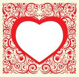 Valentinsgruß-Tag. Innere. Stockfotografie