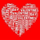 Valentinsgruß-Tag rotes BG Lizenzfreies Stockfoto