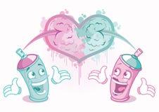 Valentinsgruß-Tageselemente Stockfotos