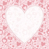 Valentinsgruß-Tagesgrußkartenhintergrund Stockfoto