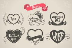 Valentinsgruß-Tagesherz stock abbildung