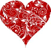Valentinsgruß-Tageshintergrund,   vektor abbildung