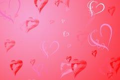 Valentinsgruß-Tageshintergrund Stockfotos