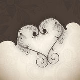 Valentinsgruß-Tageshintergrund. vektor abbildung