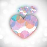 Valentinsgruß-Tageshintergrund. Lizenzfreie Stockfotos