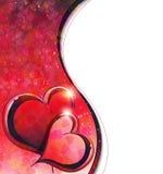 Valentinsgruß-Tageshintergrund Lizenzfreie Stockfotos