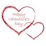 Valentinsgruß-Tageshintergrund Stockbilder