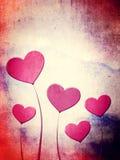 Valentinsgruß-Tageshintergrund Stockfotografie