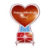Valentinsgruß-Tageshintergrund Lizenzfreies Stockfoto