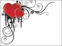 Valentinsgruß-Tageshintergrund lizenzfreie abbildung