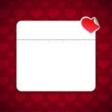Valentinsgruß-Tageshintergrund mit Exemplar-Platz stock abbildung