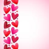 Valentinsgruß-Tageshintergrund mit Raum für Text Lizenzfreie Stockfotografie