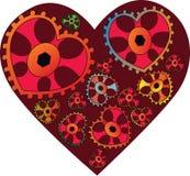 Valentinsgruß-Tageskarte Lizenzfreies Stockbild