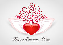 Valentinsgruß-Tageskarte Stockfoto
