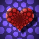 Valentinsgruß-Tageskarte lizenzfreie stockfotografie