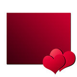 Valentinsgruß-Tageskarte 4 Lizenzfreie Stockfotos