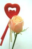 Valentinsgruß-Tageskarte Stockbilder