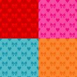 Valentinsgruß-Tagesnahtloses Muster vektor abbildung