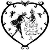 Valentinsgruß Victoria Stockbilder