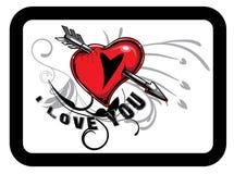 Valentinsgrußabbildung Lizenzfreies Stockfoto