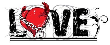 Valentinsgrußabbildung Lizenzfreies Stockbild
