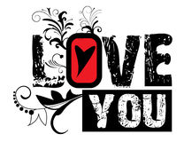 Valentinsgrußabbildung Lizenzfreie Stockbilder