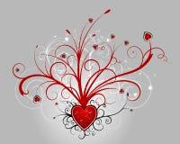 Valentinsgrußauslegung (Vektorincl) Stockbilder