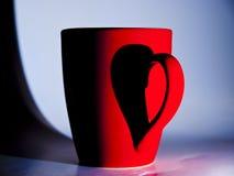 Valentinsgrußbecher Lizenzfreies Stockfoto