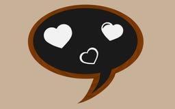 Valentinsgrußblase Stockbilder