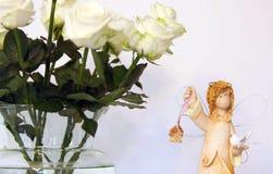 Valentinsgrußengel Lizenzfreie Stockbilder