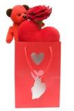 Valentinsgrußgeschenk lizenzfreies stockbild
