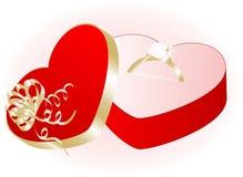 Valentinsgrußgeschenk Stockfoto