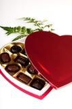 Valentinsgrußgeschenk für einen Geliebten stockbild