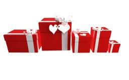 Valentinsgrußgeschenke Lizenzfreies Stockbild