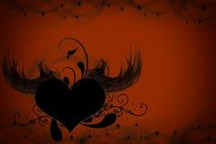 Valentinsgrußherz lizenzfreie stockfotografie