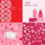 Valentinsgrußhintergründe Lizenzfreie Stockfotos