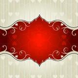 Valentinsgrußhintergrund Stockfoto