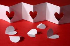 Valentinsgrußhintergrund Stockbild