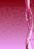 Valentinsgrußhintergrund Stockfotos