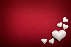 Valentinsgrußhintergrund lizenzfreie stockfotografie