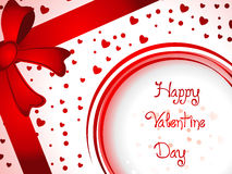 Valentinsgrußhintergrund Lizenzfreies Stockfoto