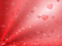 Valentinsgrußhintergrund stock abbildung