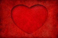 Valentinsgrußhintergrund mit Innerem Lizenzfreie Stockfotografie