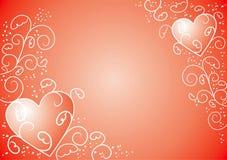 Valentinsgrußhintergrund, Vektor Stockbild