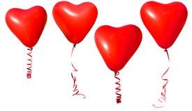 Valentinsgrußinnerballone lizenzfreie stockbilder