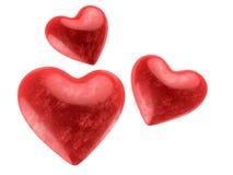 Valentinsgrußinnere stock abbildung