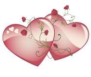 Valentinsgrußinnere Lizenzfreies Stockfoto